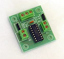 Elementz Engineers Guild L293D Ic Based Dc Motor / Stepper Motor Driver Board For Raspberry Pi Arm Arduino Avr Pic 8051 (Green)