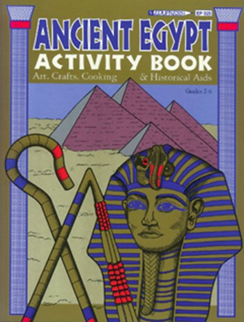 Edupress Activity Book Ancient Egypt Gr 2-6