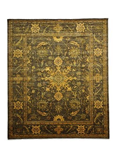 Darya Rugs Transitional Oriental Rug, Yellow, 9' 9 x 8' 4