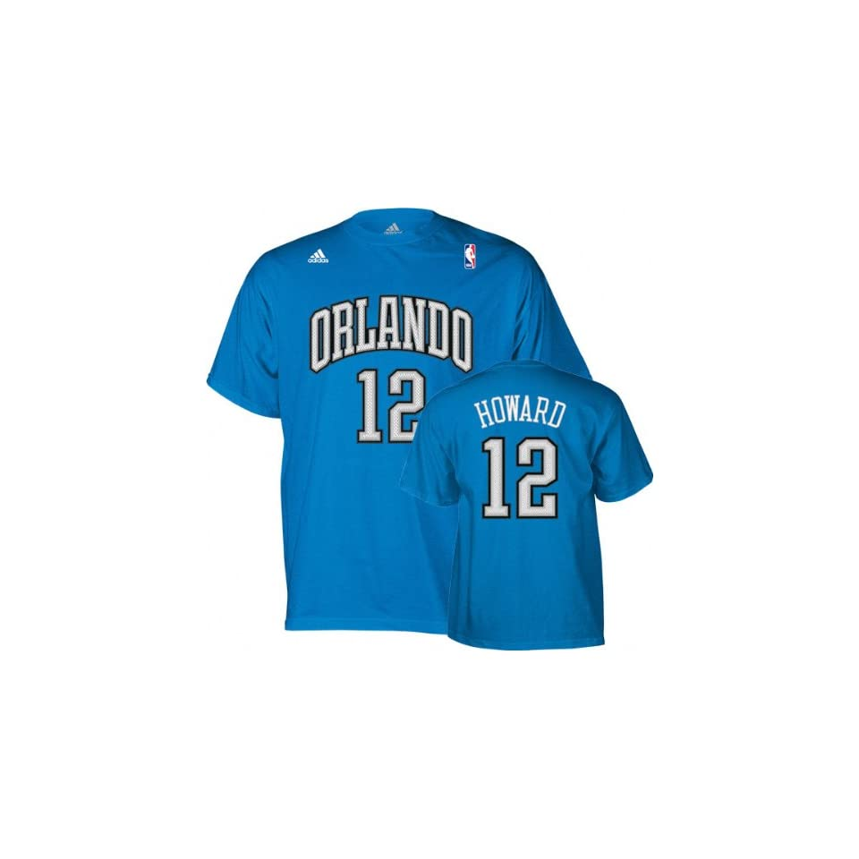 23deb17b8bd Dwight Howard adidas Name and Number Orlando Magic T Shirt on PopScreen