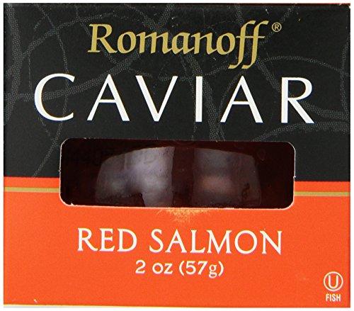 Romanoff Caviar Red Salmon, 2 Ounce Jar