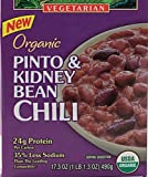 Westbrae Natural Organic Pinto & Kidney Bean Chili (Vegetarian), Buy TWELVE Packages and SAVE, Each Packeage is 17 oz (Pack of 12)