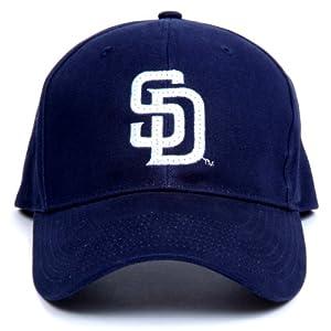 MLB San Diego Padres LED Light-Up Logo Adjustable Hat by Lightwear