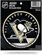 NHL Pittsburgh Penguins Round Decal by Rico