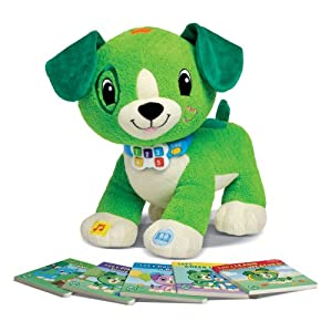 LeapFrog Read with Me Me Scout Interactive Soft Toy (Englische Sprache) [UK Import]