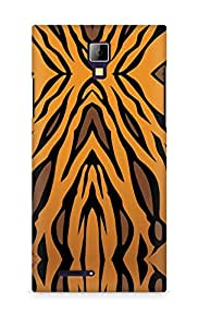 Amez designer printed 3d premium high quality back case cover for Micromax Canvas Express A99 (Animal Pattern1)