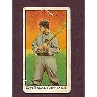 1909-11 E90-1 American Caramel Sam Crawford Tigers Good 114367 Kit Young Cards