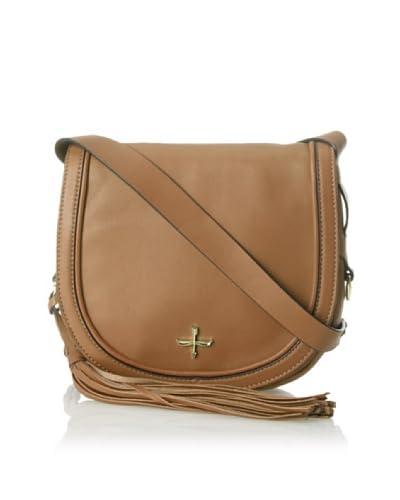 Pour La Victoire Women's Nina Mini Saddle Bag, Mocha As You See