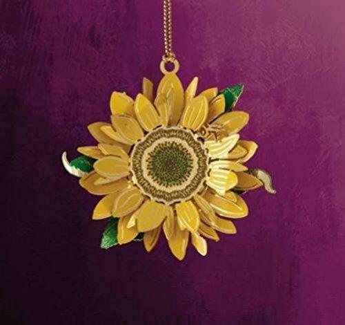 ChemArt Sunflower Ornament