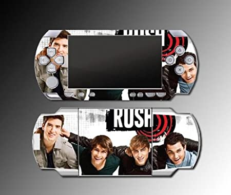 Big Time Rush BTR Boyfriend Music Game Vinyl Decal Cover Skin Protector #3 for Sony PSP 1000 Playstation Portable