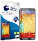 Tech Armor Samsung Galaxy Note 3 High Defintion (HD) Clear Screen Protectors - Maximum Clarity and Touchscreen Accuracy [3-Pack] Lifetime Warranty
