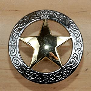 Set of 24 fancy garland lone star drawer pulls cabinet for Star cabinet pulls
