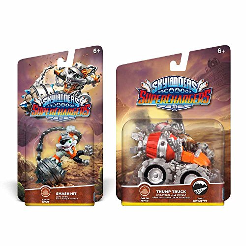 Skylanders Superchargers Character & Vehicle Bundle - Smash Hit & Thump Truck