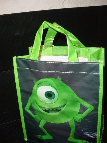 558986M Disney/Pixar Monsters, Inc. 3D Treat Bag Mike Monster Eye Green Bag by Kellogg