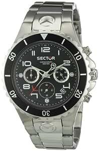 Sector - R3273611125 - Montre Homme - Quartz - Chronographe - Bracelet Acier inoxydable Argent