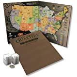 Statehood Quarter Set - Includes Coin Collecting Map Folder and All 56 Quarters Uncirculated