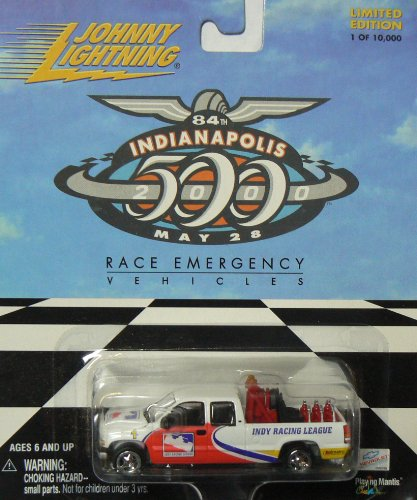 Johnny Lightning Indianapolis 500 Race Emergency Vehicle