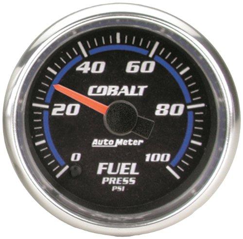"Auto Meter 7963 Cobalt 2-5/8"" 0-100 Psi Full Sweep Electric Fuel Pressure Gauge"