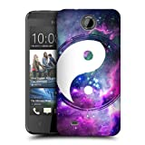 Head Case Designs Purple Nebula Yin and Yang Collection Protective Snap-on Hard Back Case Cover for HTC Desire 300