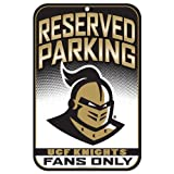 NCAA Central Florida Golden Knights Styrene Sign, 11 x 17-Inch
