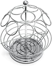 Lipper International Small Coffee Carousel Basket Stainless Steel