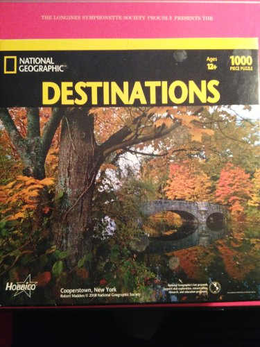 National Geographic Cooperstown NY 1000pcs - 1