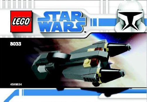 LEGO Star Wars Set #8033 General Grievous Starfighter - 1
