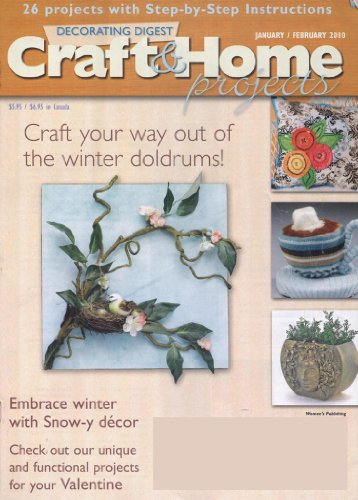 Decorating Digest Craft & Home Projects Magazine - MAGHOUND