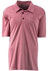Adidas Golf A163 Mens ClimaLite Heather Polo