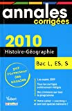 img - for Histoire-G    o Bac L, ES, S 2010 book / textbook / text book