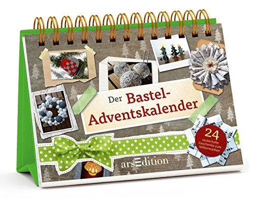 Buchseite und Rezensionen zu 'Der Bastel-Adventskalender: 24 zauberhafte Geschenke zum Selbermachen' von Jutta Kopf