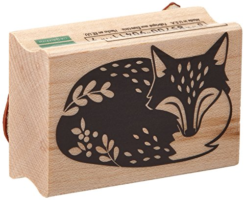 Buy Animal Rubber Stamps - Fox Rubber Stamp