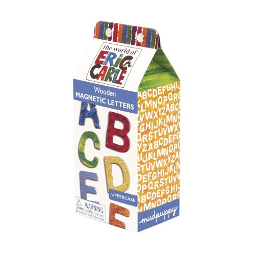 Eric Carle Uppercase Wooden Magnetic Letters