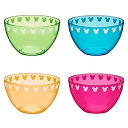 Disney Mickey Mouse Icon Bowl Set - Summer Brights