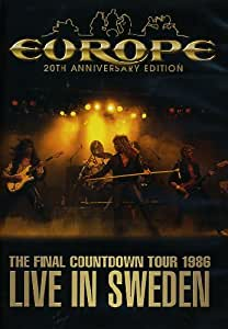 """EUROPE """"""""THE FINAL COUNTDOWN TOUR 1986 LIVE IN SWEDEN"""