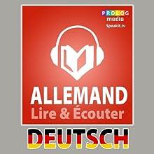 Allemand - Guide de conversation [French Edition]: Série Lire et Écouter | Livre audio Auteur(s) :  PROLOG Editorial Narrateur(s) :  MIchelle