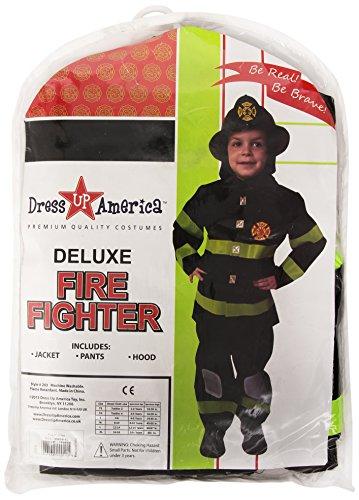 Dress up America Preisgekröntes FeuerwehrKostümset in DeluxeAusführung  Größe S 46 Jahre Picture