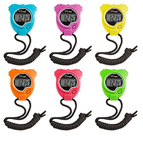 6-Pc Assorted Stop Watch (Champion Digital Watch compare prices)