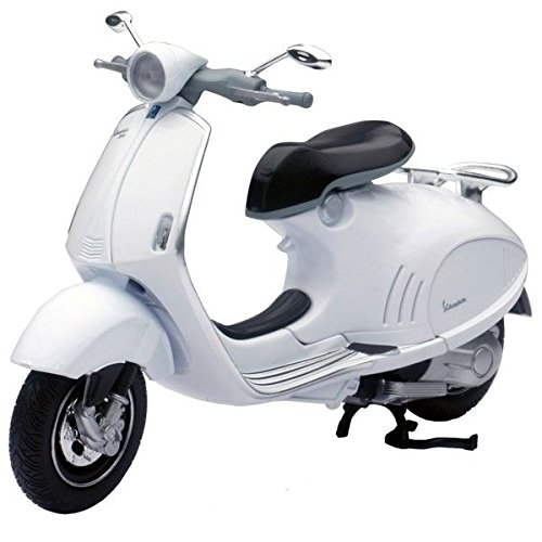 Vespa 946 1/12 Scale Die-cast Metal Model by NewRay - Black (Vespa Model compare prices)