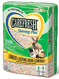 Absorbtion Corp Carefresh Shavings Plus Pet Bedding, 60-Liter