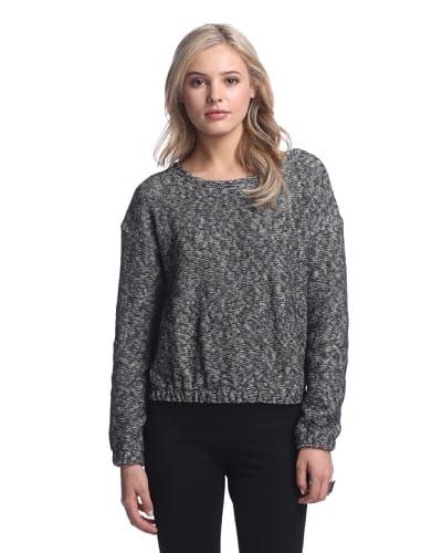 WHiT Women's Tweed Sweatshirt