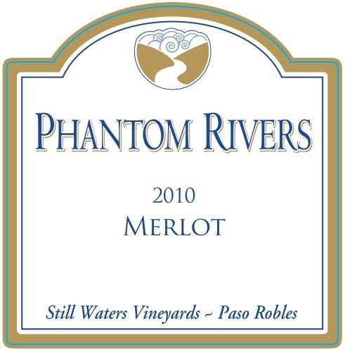 2010 Phantom Rivers Merlot Still Waters Vineyards 750 Ml