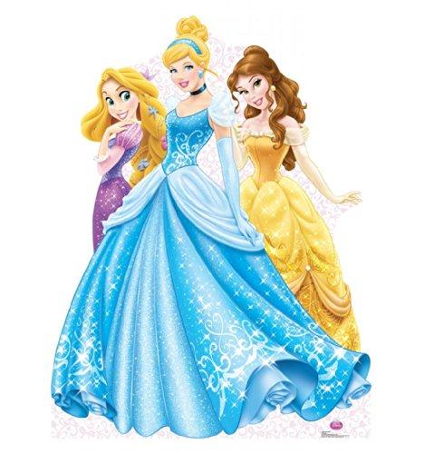 Princesses Group - Disney Princess - Advanced Graphics Life Size Cardboard Standup
