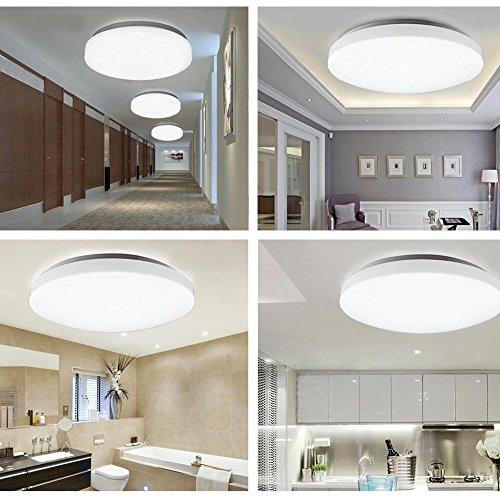 LED Ceiling Light, Natrual White 8W Round Flush Mount