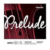 D\'Addario Prelude 3/4 Size Double Bass String Set