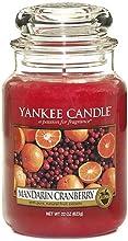 Mandarin Cranberry - Candela in giara grande
