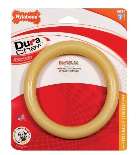 Nylabone Dura Chew Ring Dog Chew Toy, Original Flavor, Giant