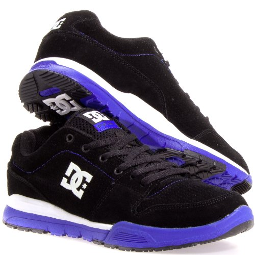 DC Men's Alias Lite SE Sneaker,Black/Royal,11.5 D US