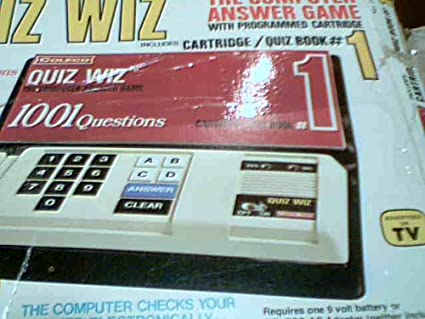 Inc Coleco Quiz Wiz The