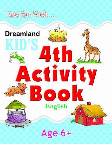 4th Activity Book - English (Kid's Activity Books) Image